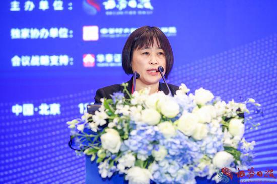 张莉:产业数字化仍处发展初期 先进制造领域应用程度待提高