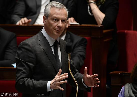 法国经济与财政部长 @视觉中国