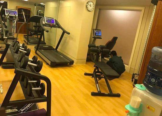 酒店健身房