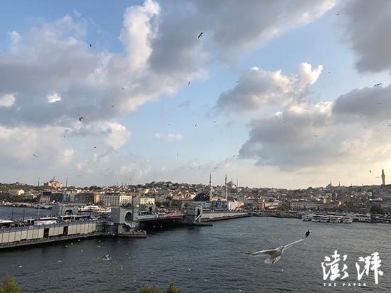 见证了奥斯曼帝国稀奇的金角湾 澎湃讯息记者 蒋梦莹 摄