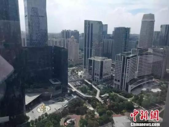 圖為廣州樓房。唐貴江 攝