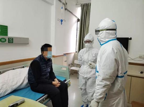 佛山禅城区中央医院疑似病例收治区
