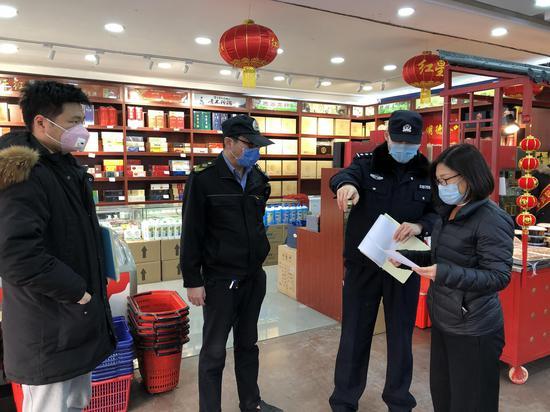 河北少垣副市少:保证防疫物质消费是政治义务