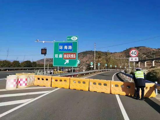 1月25日14时,双廊景区开始停止接待游客受访者供图