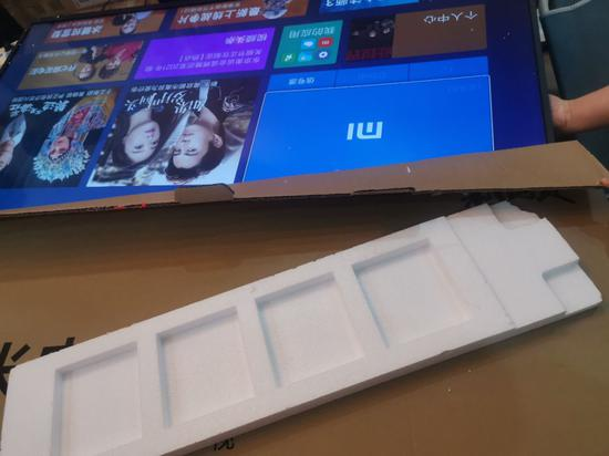 小米电视或存质量缺陷:屏幕出现1条亮线 重启还存在