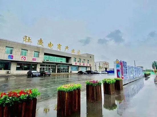 """营口""""网红小镇""""里的社交电商产业园 图源:网络"""