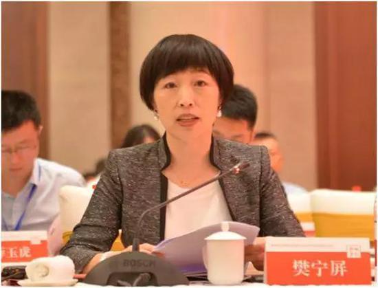 贵州茅台董事会秘书樊宁屏(图片来源:公司官网)