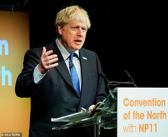 约翰逊:若与欧盟谈崩 将无视英国会法案如期脱欧