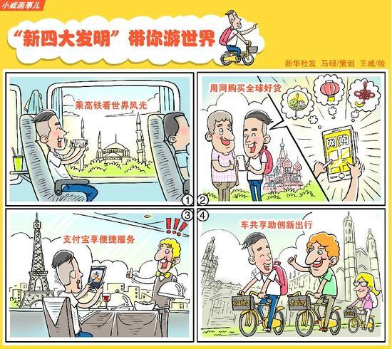 "�Y料******:""新四大�l明""��你游世界 新�A社�l 王威 作"