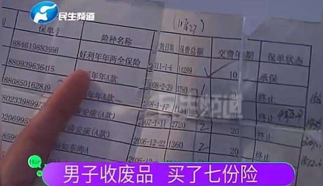 河南保险业务员忽悠残疾男子贷款买7份保险 网友称:太缺德