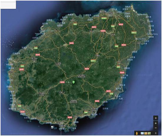 图片来源:google地图网页版