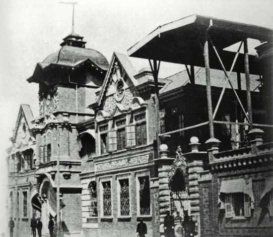 位于北京市西交民巷27号的大清户部银行旧址,1912年8月至1928年为中国银行总行。