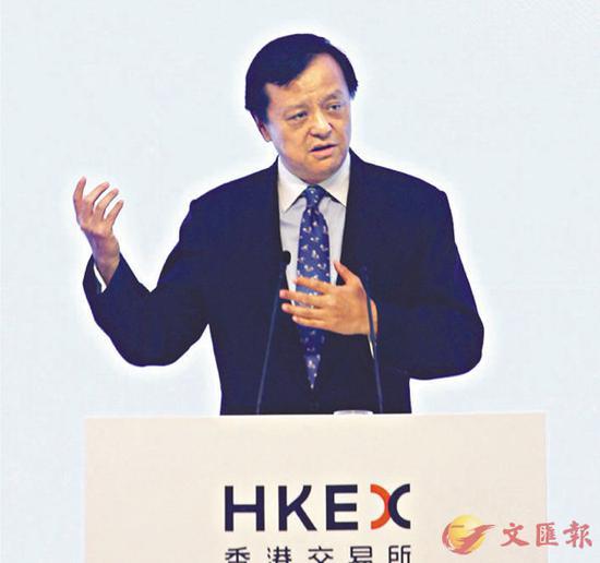 ■李幼添称,腹地产品越众、越盛开,对香港越有益处。原料图片