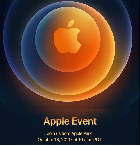 5G iPhone来了 苹果官宣下周新品发布会时间