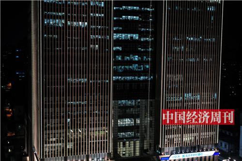 21:34 中国卫星通信大厦(今日头条办公地点)