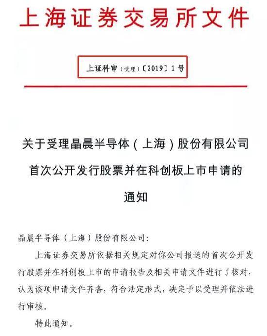 巧合的是,科創板001號受理批文,剛好給了上海本土券商申報的上海企業。