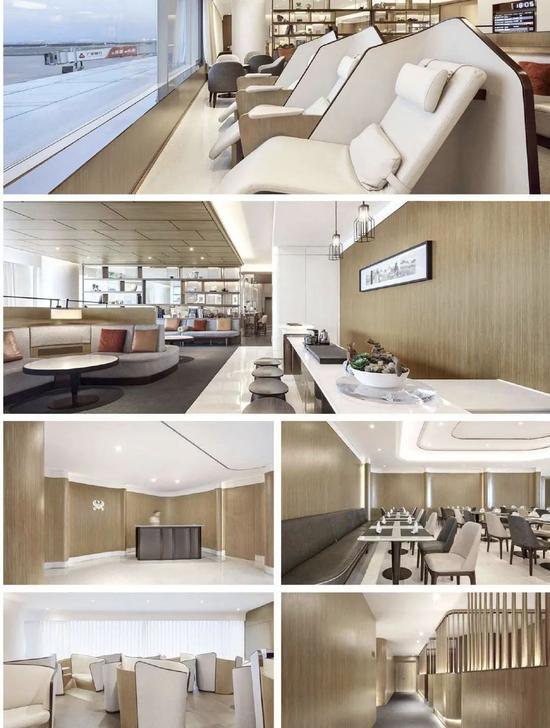 北京T2航站楼海南航空海翼堂贵宾室