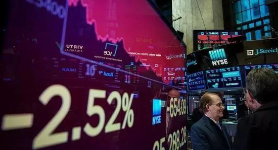 ▲中国宣布对美国实施反制措施,效果立即显示在美国股市上。(德国之声)