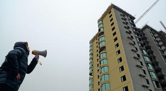 2015 年之后,许多三四线城市的房价出现了猛涨现象。图/视觉中国