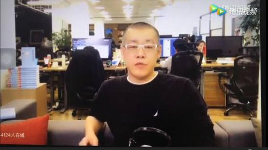 李笑来(视频截图)