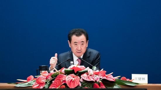 万达集团董事长王健林 图片来源:万达集团官网