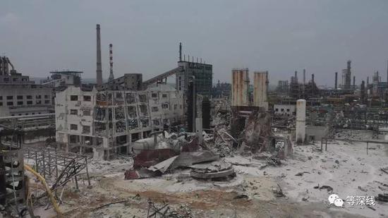 义马气化厂发生爆炸:损毁最严重区域距居民点仅382米