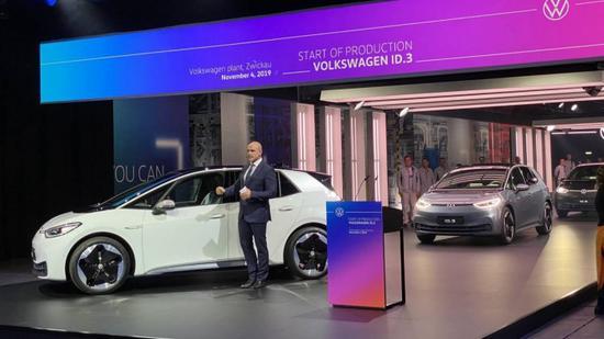 大众宣布100万辆EV产量目标时间表:比原计划提前两年