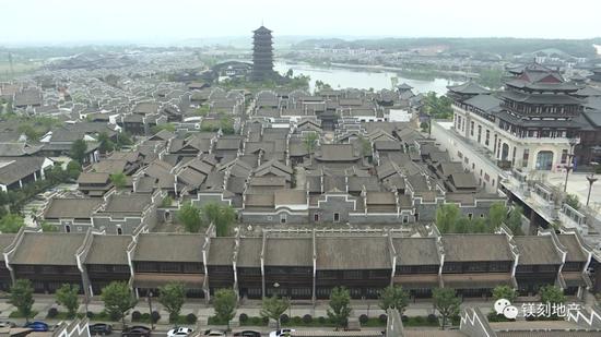铜官窑古镇俯瞰图 图片来源:企业公众号