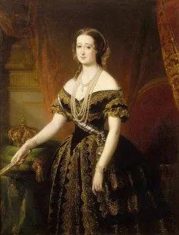 尤金妮皇后画像。