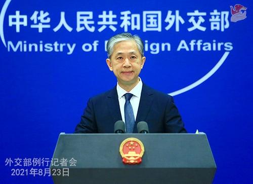 """外交部:美方应停止以中国为""""假想敌"""""""