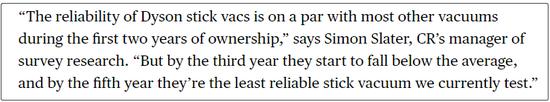 """詹姆斯·戴森100%控股不适合现代企业的管理 """"戴森现象""""是脆弱的?"""