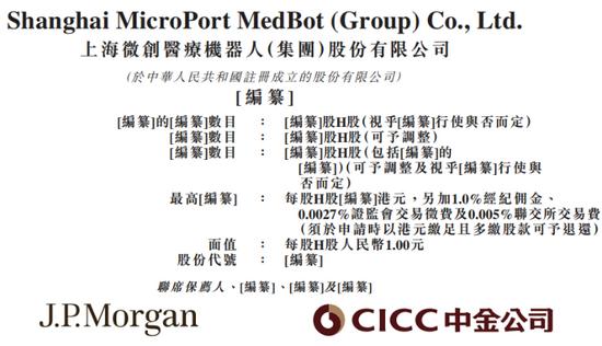 高瓴、易方达看好,上市前估值达250亿!微创医疗机器人会是大牛股吗?