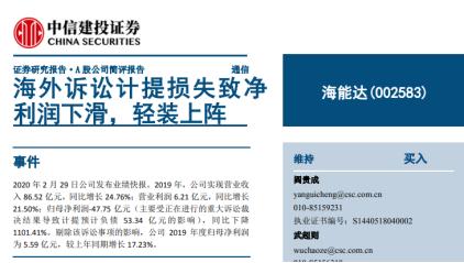 2019偏股混基黑榜:民生加银汇安大成产品赚不足5%