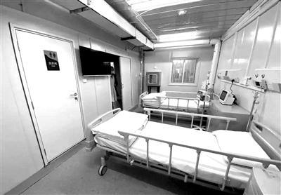 图为火神山医院病房内部场景。(资料图片)