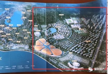还未拿地的二期规划已出现在宣传资料上图片来源:镁编摄
