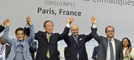 2015年签定的《巴黎协定》规定今年是落实细目的末了期限 图源:说相符国讯息