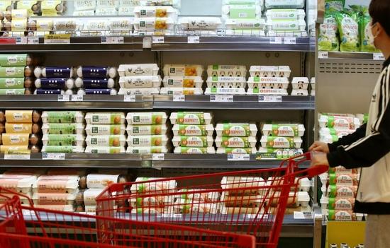 韩国8月CPI同比上涨2.6% 鸡蛋价格飙升54.6%