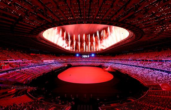 东京奥运会在新冠阴霾下正式开幕 没有观众的比赛即将开场