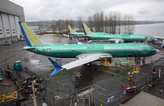 波音737 Max 8飞机