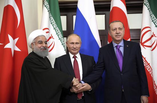 """伊朗、俄罗斯、土耳其欲联手同美国""""讨价还价"""""""