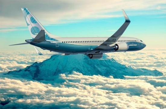 波音737 MAX 8型客机。 波音公司 图