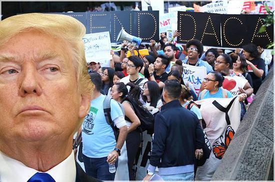 """DACA""政策是什么?特朗普要求美最高法院允许废除""追梦人""移民项目"