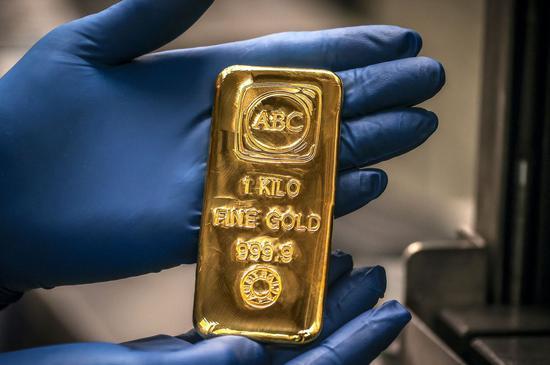 黄金期货周五收高0.4% 本周累跌0.5%