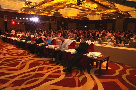 圖:世界新媒體大會現場