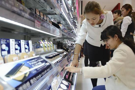日本化妆品出口额持续增长 或将连续6年刷新最高纪录