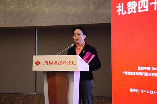 上海新闻投资股份有限公司副总经理张丽虹