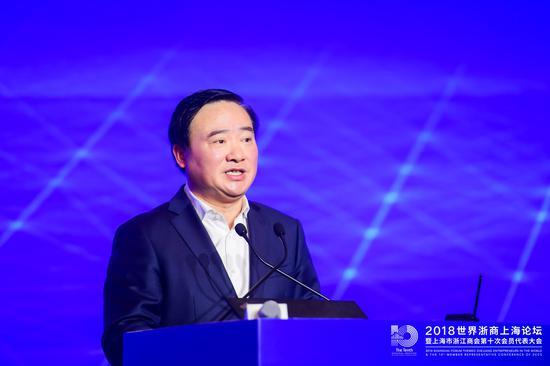 上海市委常委、浦东新区区委书记翁祖亮