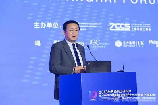 中国经济体制改革钻研会副会长、国民经济钻研所所长樊纲