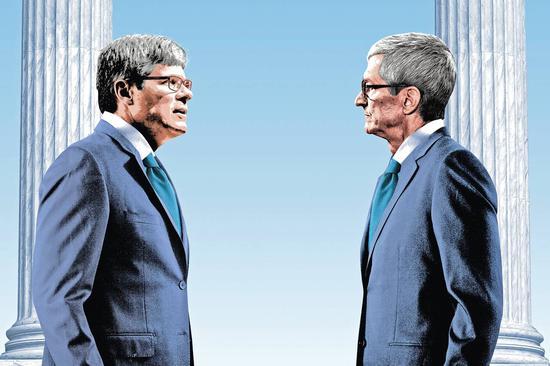 苹果高通终极对决:积怨已久的两大CEO将对簿公堂