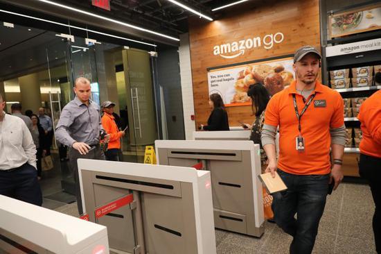 亚马逊在纽约的第二家无人便利店周二开业